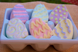 Decorated Easter EGGMALLOWS