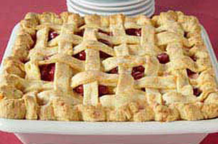 Deep-Dish Cranberry-Apple Pie Image 1
