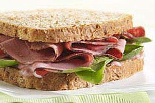 Deli Beef & Raspberry Mayo Sandwich Image 1