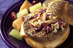 Gourmet Deli Burger Image 1