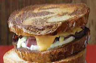 Deli Roast Beef Grilled Cheese Image 1