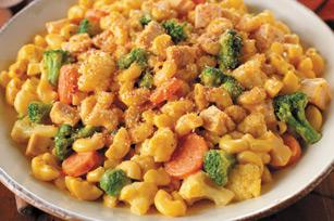 KRAFT Home-Style  Macaroni & Cheese Chicken Primavera