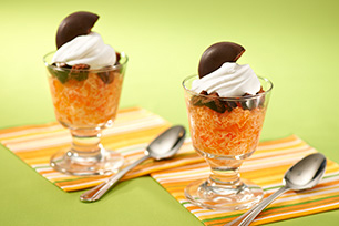 Devil's Food Orange Creme Parfaits Image 1