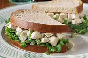 Dijon Chicken Salad Sandwich Image 1