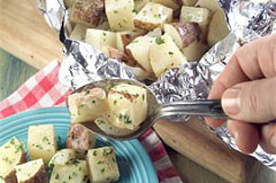 Dijon Grilled Potato Salad