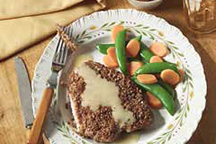 Dijon-Pecan Turkey Cutlets Recipe Image 1