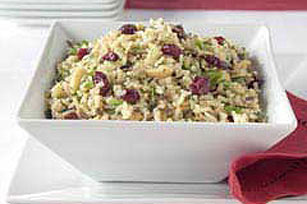Dijon Wild Rice and Dried Fruit Salad Image 1