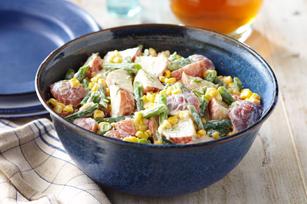 Salade de maïs et de pommes de terre à l'aneth