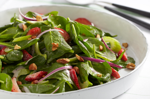 Double-Berry Spinach Salad