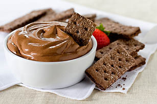 Double-Chocolate Mousse & Sticks