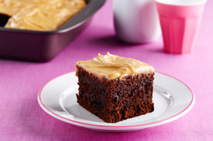 Double Chocolate-Peanut Butter Snacking Cake