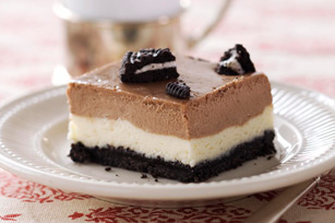 Double-Decker OREO Cookie Cheesecake Image 1