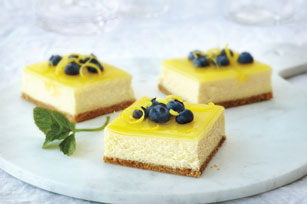 Double-Lemon Cheesecake Bars Image 1
