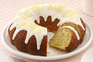 Double-Lemon Poppy Seed Cake