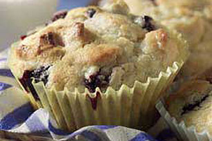 Double Blueberry Muffins Image 1