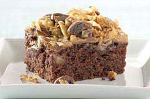 Double Chocolate-Caramel Brownie Recipe Image 1