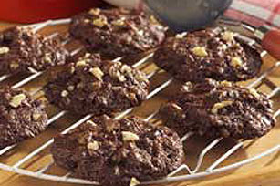 Double-Chocolate Chunk Cookies Image 1