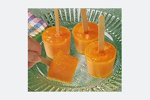 Double Fruit-Flavor Frozen Pops