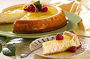 Double Lemon Cheesecake