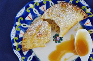 Dulce de Leche Banana Empanadas with Walnuts