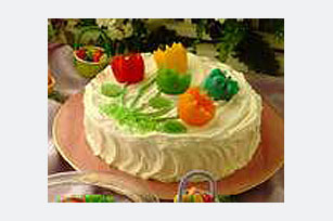 EGG JIGGLERS® Tulip Bouquet Party Cake Image 1