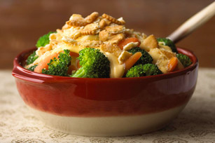 Easy Carrot and Broccoli au Gratin