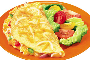 Easy Cheese Omelette Image 1