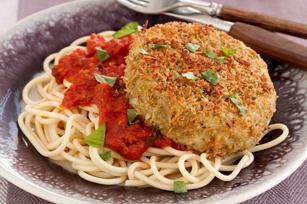Recette éclair d'aubergine au parmesan Image 1