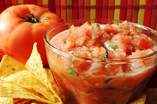 Fresh Salsa with Garden Tomatoes Image 1
