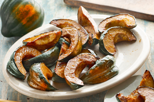 Easy Glazed Acorn Squash