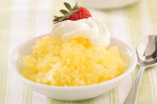 Easy Lemon Ice