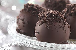 Sencillas trufas con galletas de chocolate Image 1