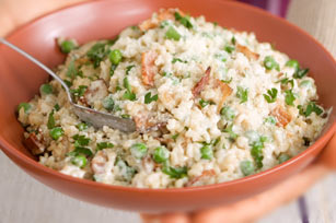 Easy Risotto with Bacon & Peas Image 1