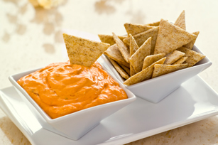 Easy Roasted Red Pepper Dip Image 1