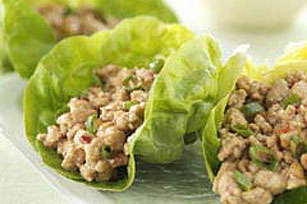Easy Asian Turkey Lettuce Wraps
