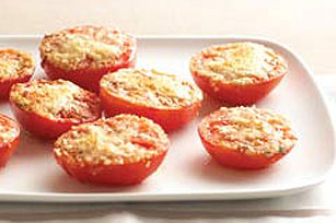 "Easy ""Baked"" Tomatoes"