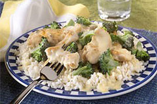 Easy Rice, Chicken and Broccoli Recipe