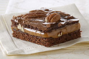 Easy Caramel Pecan Brownies Image 1