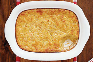 Easy Cheesy Corn Bake Image 1