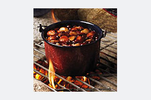 Easy Cheesy Franks & Beans Image 1