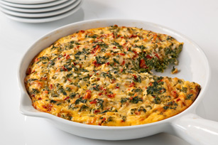 Easy Cheesy Frittata Image 1