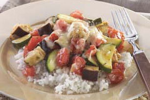 Easy Cheesy Vegetable Medley Image 1