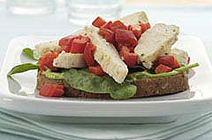 Easy Chicken Bruschetta
