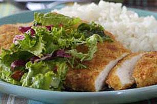 Sencilla milanesa de pollo Image 1