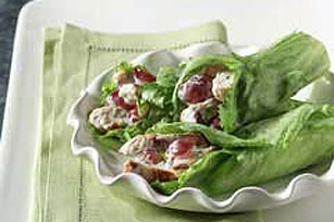 Easy Chicken Salad Lettuce Wraps Image 1