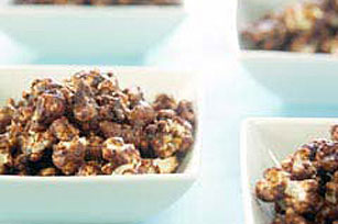 Chocolate-Caramel Popcorn Recipe Image 1