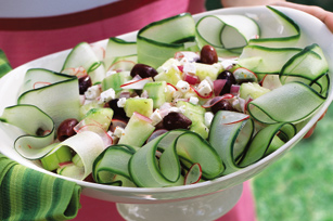 Easy Crisp Cucumber Salad