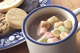 Easy Hot Choco-Mallow Milk Shake Image 1