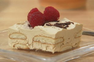 Easy Vanilla Wafer Tiramisu Image 1