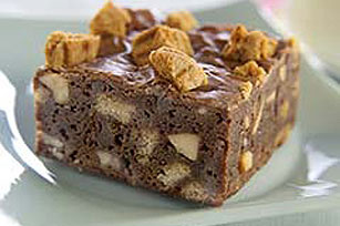 Easy Peanut Butter Crunch Brownies Image 1